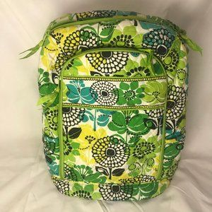 Vera Bradley Quilted Lime Green Laptop Backpack